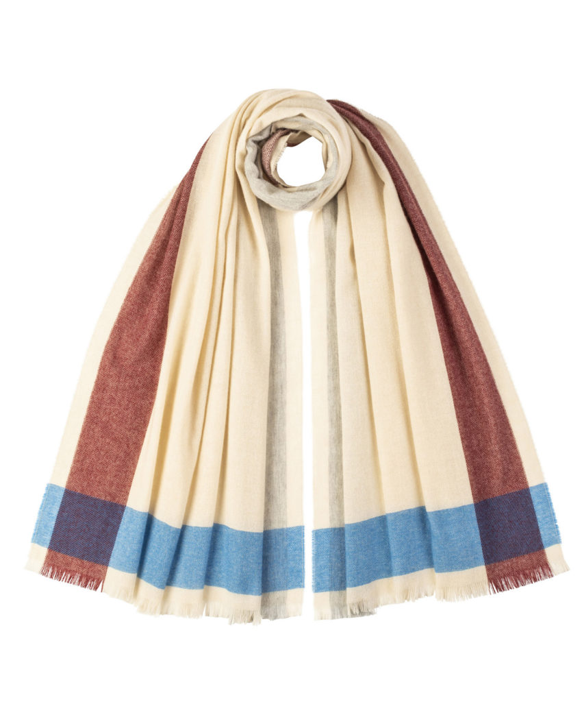 WA1174 Lt.weight Stole(Beige)