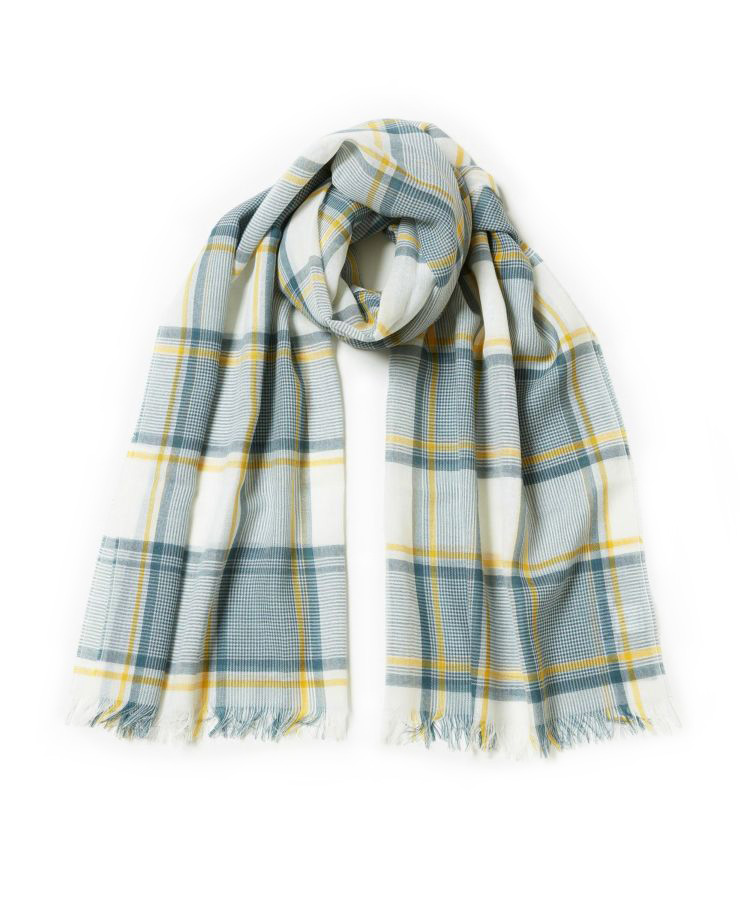 WD1093 Woven Scarf(Yellow)