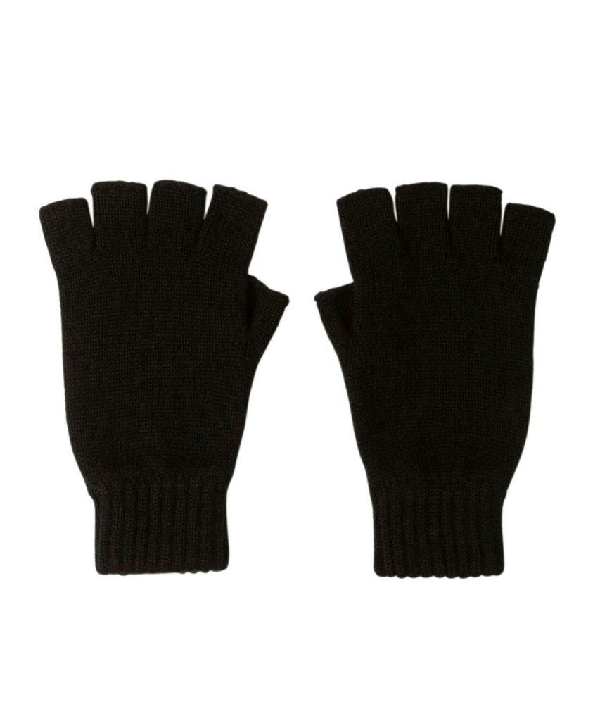 HAY2223 Fingerless Glove(Black)
