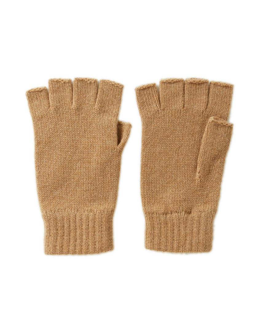 HAY2223 Fingerless Glove(Camel)