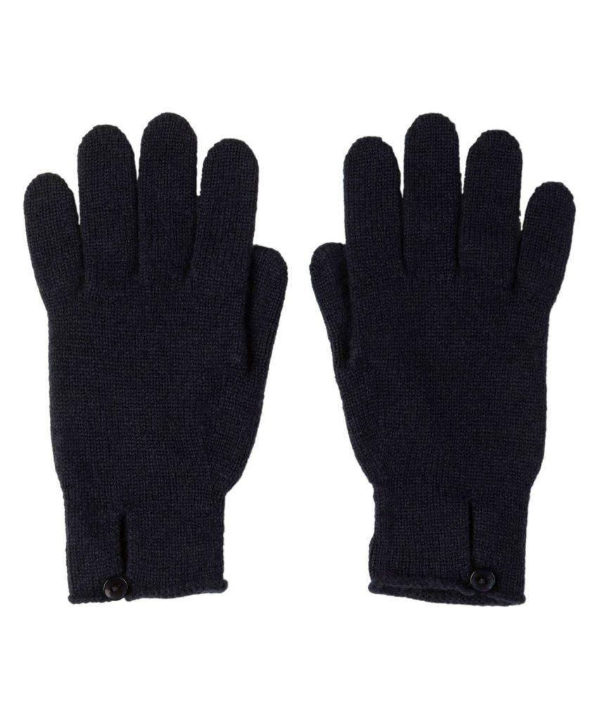 HAY2241 Button Loop Glove(Navy)
