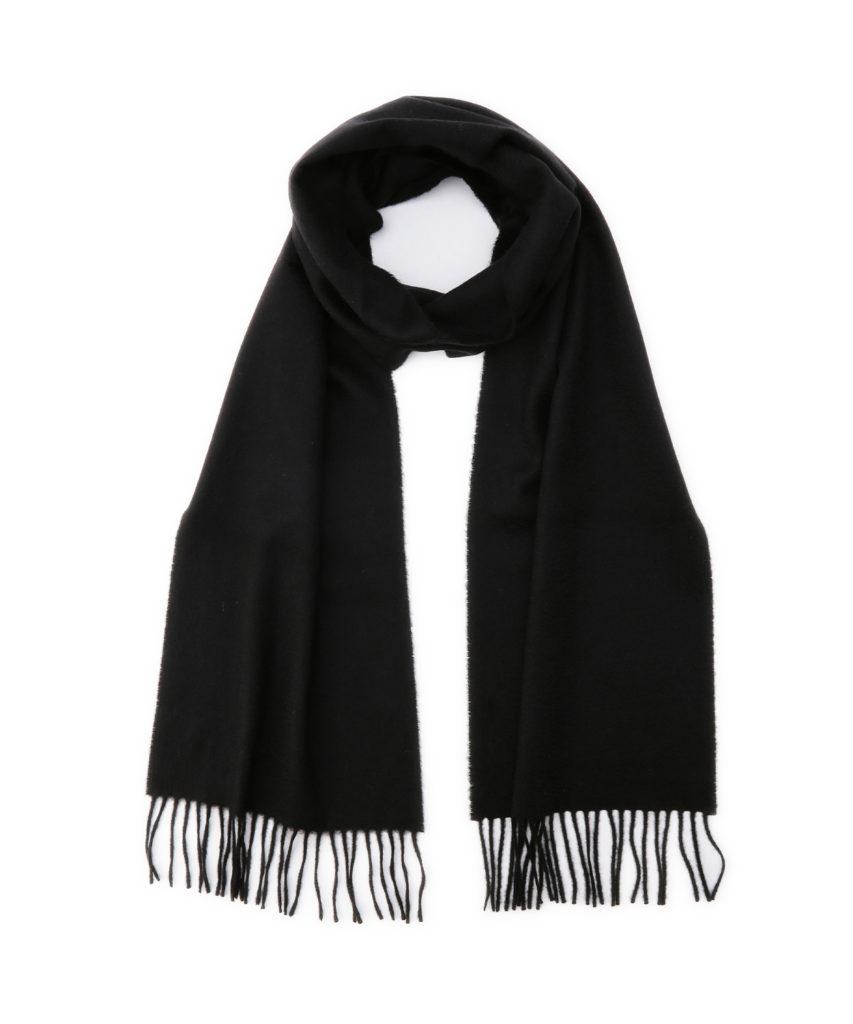 WA16 Woven Scarf(Black)