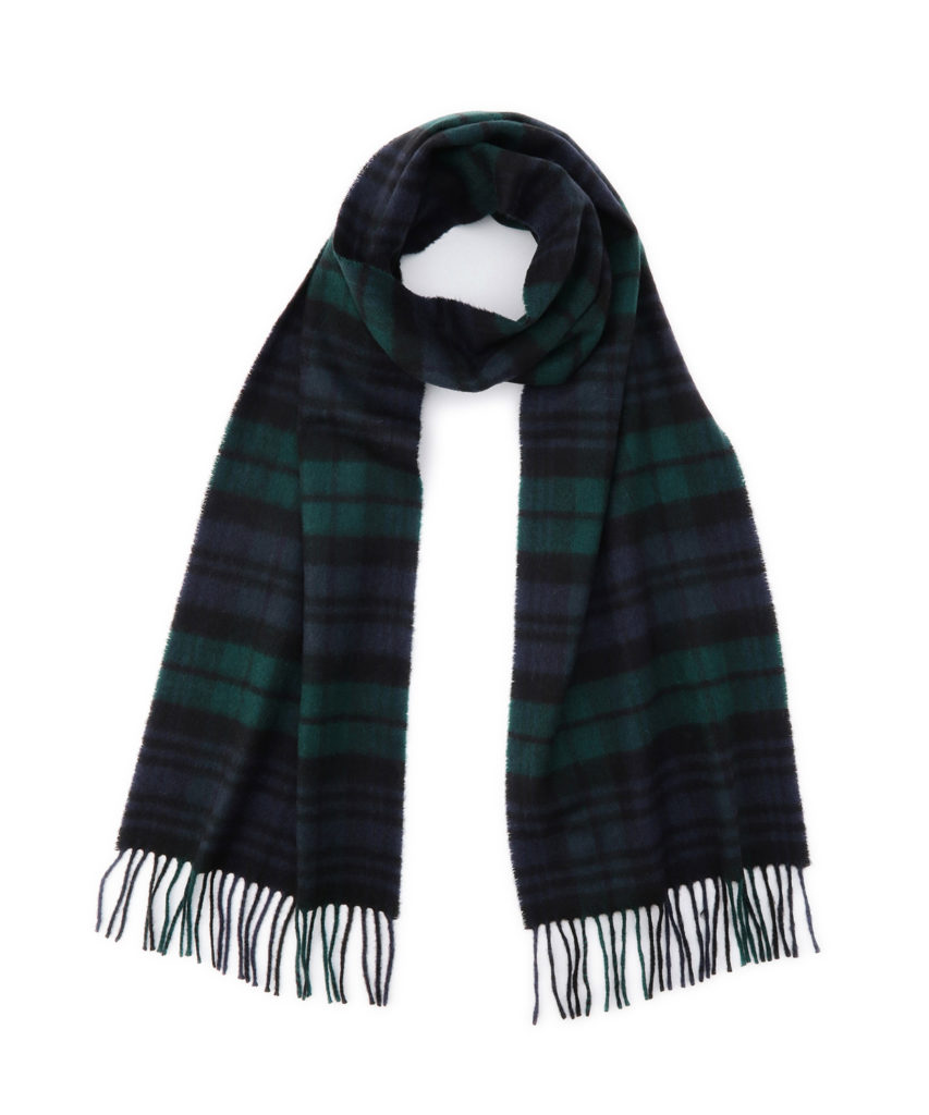 WA16 Woven Scarf(Black Watch)