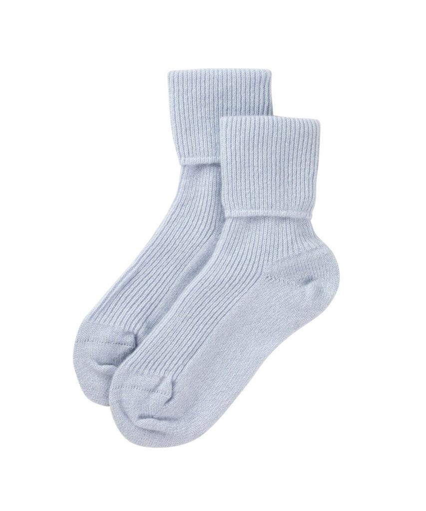 HAG2565 Bed Socks LDS(Pale Blue)