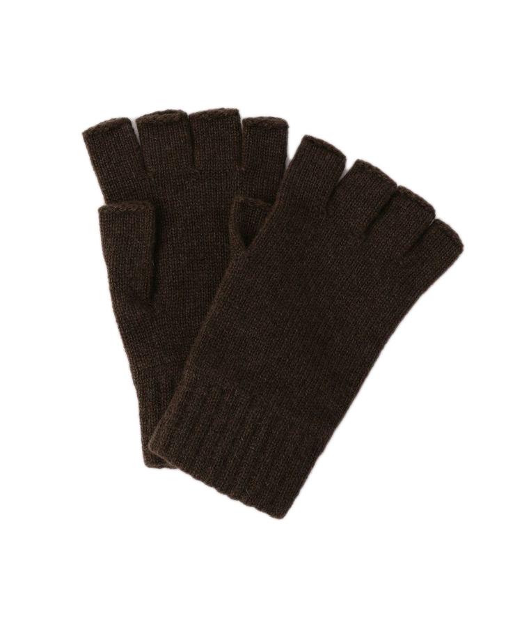 HAY2223 Fingerless Glove(Dark Chocolate)