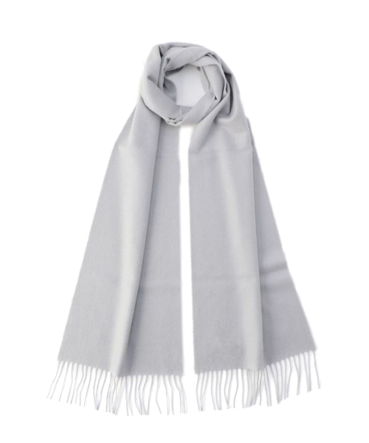 WA16 Woven Scarf(Light Flat Grey)