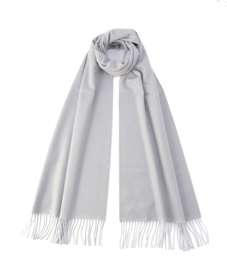 WA57 Woven Scarf(Light Flat Grey)