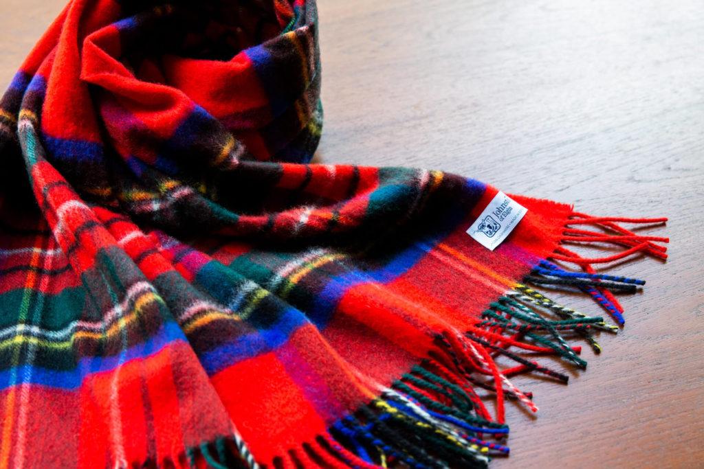 カシミヤのストールとスカーフ